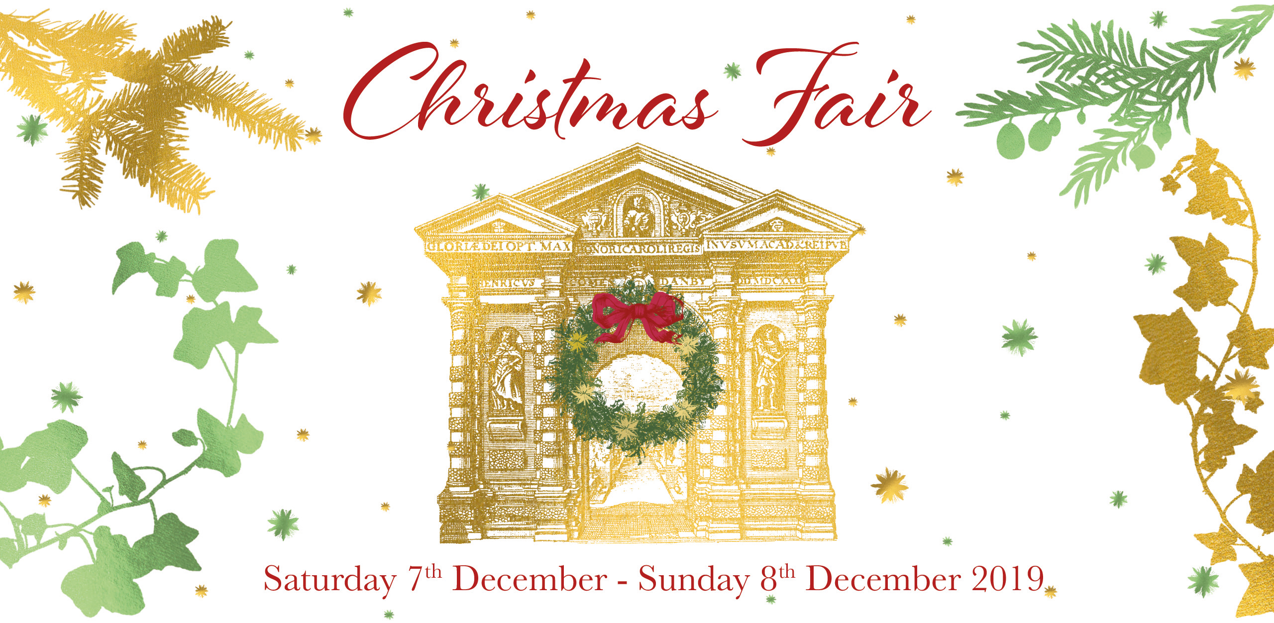 christmas fair 2019  website event banner