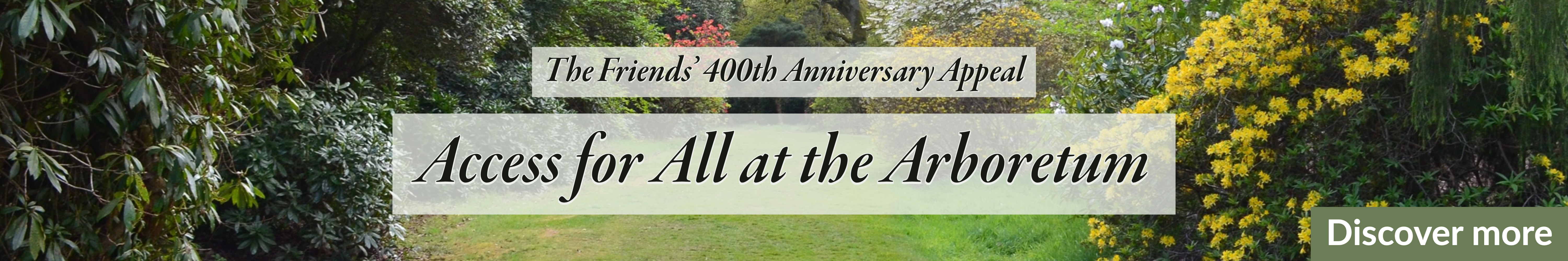 Friends' 400th anniversary appeal