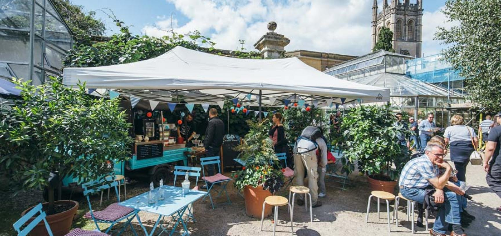 Riverside Pop-Up Cafe
