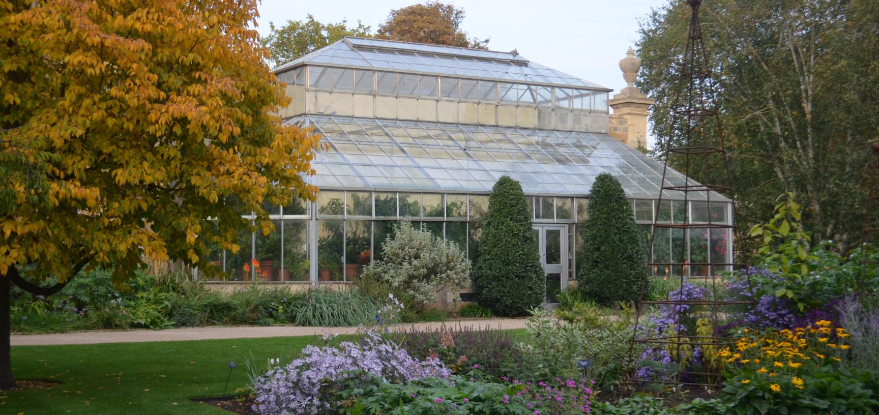 Conservatory in Autumn