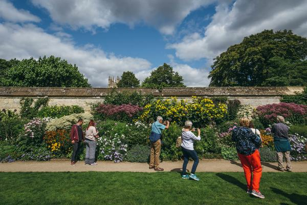 Herbaceous Border with Visitors (Wallman Lo Res)