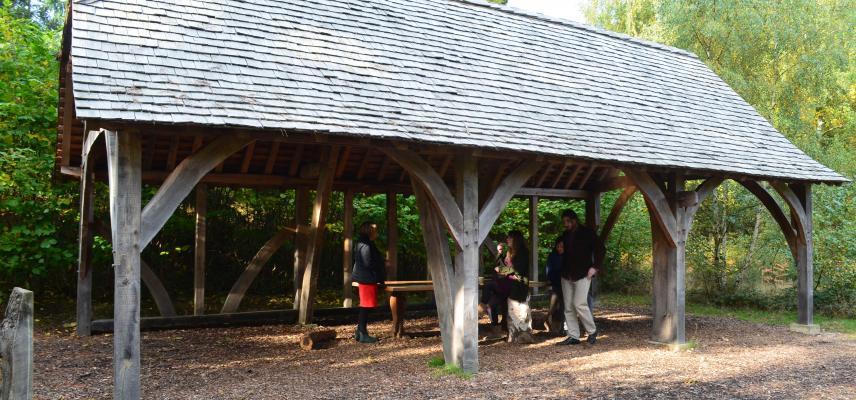 Woodland Barn at the Arboretum