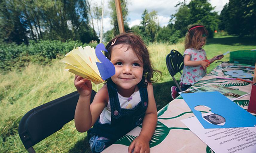 Family Craft Event Arboretum 2